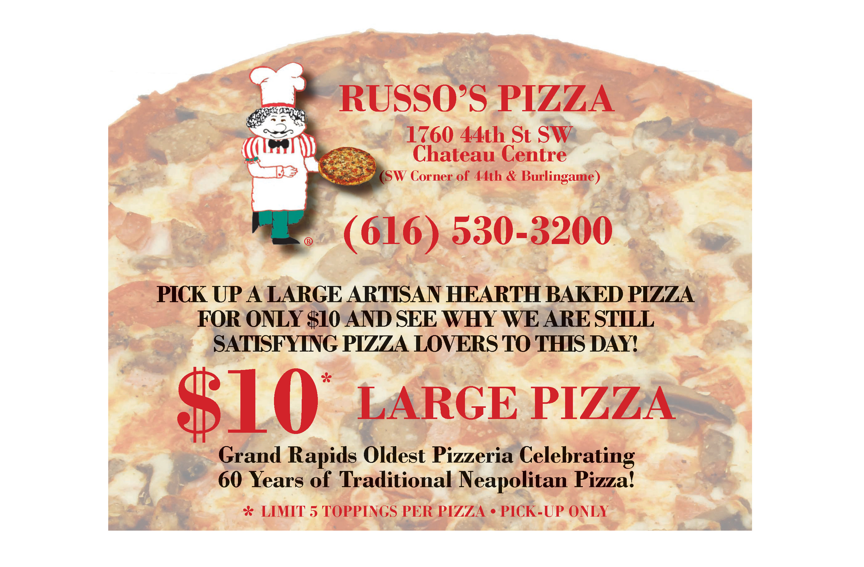 Byron pizza coupons